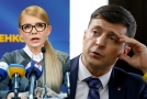 Julija Tymošenková a Volodymyr Zelenskyj měli být údajně podporováni vlivným ukrajinským oligarchou.