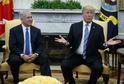 Netanjahu Trump při setkání, které proběhlo v březnu 2018.