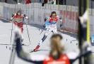 Norská lyžařka Therese Johaugová prohrála ve finiši se Švédkou Stinou Nilssonovou.