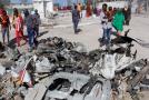 Po útoku islámských radikálů v Mogadišu zůstalo 15 mrtvých.