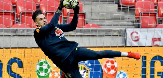 Brazilci v neděli již trénovali v Edenu.
