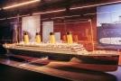 Snímek z výstavy Titanic.