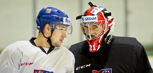 Bratři Jan (vlevo) a Jakub Kovářové spolu kromě reprezentace nikdy nehráli v jednom klubu na nejvyšší úrovni.