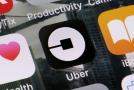 Aplikace Uber (ilustrační foto).