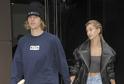 Justin Bieber s manželkou.