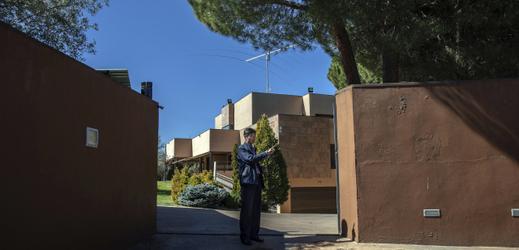 Ambasáda KLDR v Madridu, ze které byla data odcizena.
