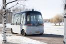 Autonomní autobus.
