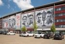 UEFA kvůli výtržnostem z duelu proti Genku uzavřela Slavii část tribuny, kde sídlí kotel sešívaných.