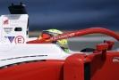 Schumacherův syn Mick ve svém monopostu.