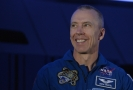 Americký astronaut Andrew Feustel.