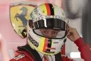 Sebastian Vettel, jezdec z týmu Ferrari.