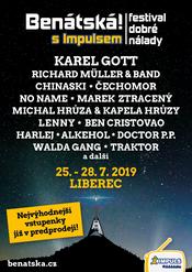 Festival Benátská! S Impulsem láká na hvězdy a bohatý program.