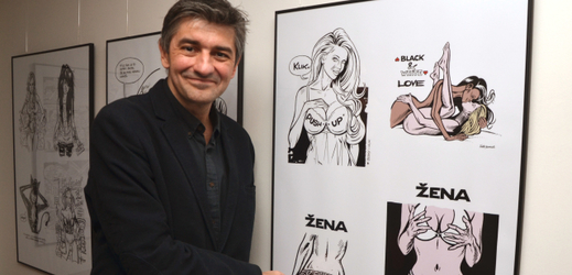 Kreslíř Štěpán Mareš.