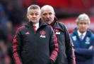Trenér Manchesteru United Ole Gunnar Solskjaer (vlevo).