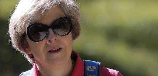 Theresa Mayová vyrazila na dovolenou.