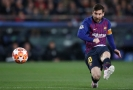 Lionel Messi v akci.