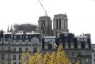 Notre-Dame po tragickém požáru.