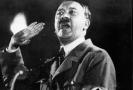 Nacistický vůdce Adolf Hitler.