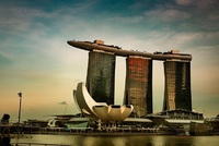 Hotel Marina Bay Sands.