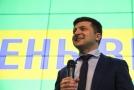 Kandidát na prezidenta Ukrajiny Volodymyr Zelenskyj.