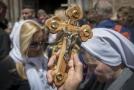 Tisíce věřících si v Jeruzalémě připomněly ukřižování Krista.