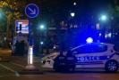 Zásah policie během teroristického útoku v Paříži.