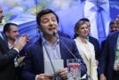 Vítěz ukrajinských prezidentských voleb Volodymyr Zelenskyj.