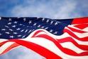 Americká vlajka.
