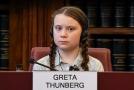 Greta Thunbergová vystoupila v britském parlamentu.