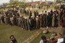 Indické parlamentní volby, město Šrínagar.