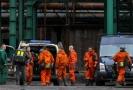 Báňští záchranáři se připravovali 23. prosince 2018 na sfárání do podzemí Dolu ČSM ve Stonavě na Karvinsku.