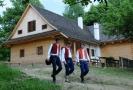 V areálu Valašského muzea v přírodě v Rožnově pod Radhoštěm byly v roce 2009 slavnostně otevřeny nové objekty Valašské dědiny, mimo jiné budova hostince.