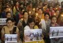 Uctění památky obětí teroristického útoku na Srí Lance.