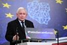 Předseda vládnoucí strany Právo a spravedlnost (PiS) Jaroslaw Kaczyński.