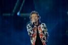 Frontman Rolling Stones Mick Jagger.