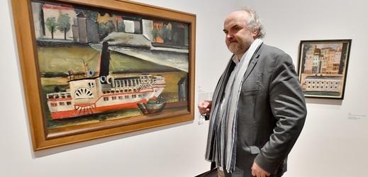 Odvolaný šéf Národní galerie Jiří Fajt se dostal do křížku s Antonínem Staňkem.