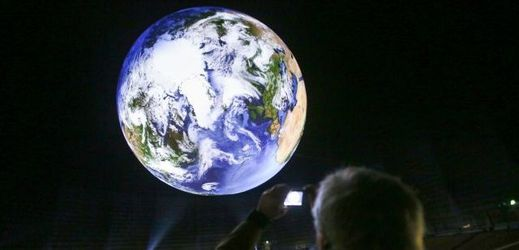 """Planeta Země na výstavě """"Zázraky přírody""""."""
