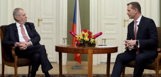 Miloš Zeman a Jaromír Soukup.