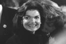 Bývalá první dáma Jacqueline Kennedyová-Onassisová.