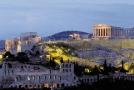 Akropolis v Athénách.