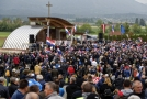 Kontroverzní pietní akce Chorvatů u Bleiburgu.