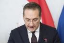 Končící rakouský vicekancléř Heinz-Christian Strache.