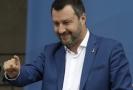 Šéf italské Ligy Matteo Salvini.