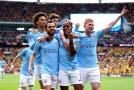 Manchester City získal v letošní sezoně již třetí trofej.