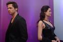 Voskoví herci Brad Pitt a Angelina Jolie.