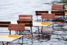 Fotografie z německého Bavorska, které sužuje vydatný déšť.