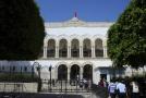 Budova tunisského soudu.