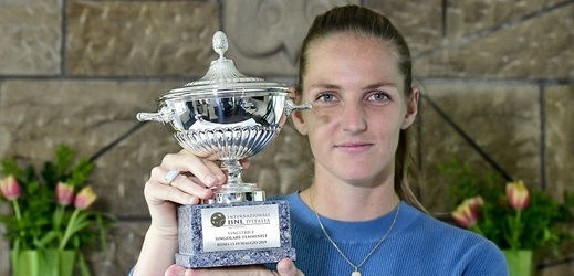 Karolína Plíšková vyhrála třináctý turnaj v kariéře, v Praze představila repliku.