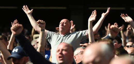 Fanoušci Tottenhamu.