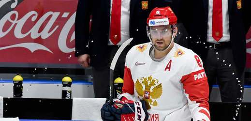 Hokejista Alexandr Ovečkin.